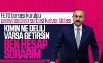 Adalet Bakanı FETÖ borsası iddialarına cevap verdi