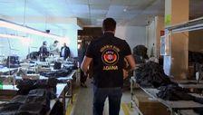 Adana'da 86 bin kaçak maske ele geçirildi