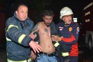 Adana'da annesine kızıp evi ateşe veren şahıs