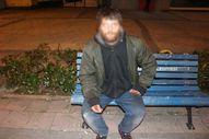Adana'da dilenci ile polis arasında ilginç diyalog
