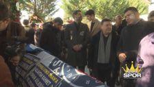 Ömer Onan'ın babası Utku Onan'ın cenazesi toprağa verildi