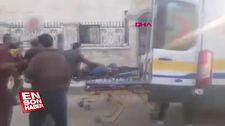 PKK/PYD Azez'e havan ve roketli saldırı düzenledi