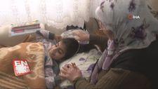 Engelli torununa 10 yıldır hem annelik hem babalık yapıyor