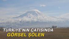Türkiye'nin çatısında görsel şölen