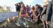 Ailesi ve arkadaşları Ceren Özdemir'i mezarında ziyaret etti