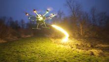 Alev makinesine sahip drone satışa çıktı