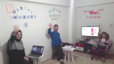 Ankara'da evin bir odasında 3 farklı okul oluşturdular