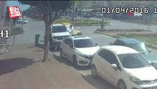 Antalya'da drift yapan ehliyetsiz sürücü polisi görünce kaçtı