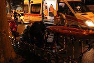 Beşiktaş'ta motosiklet kazası