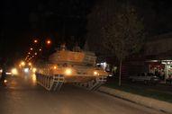 Suriye sınırına zırhlı araç ve tank sevkiyatı sürüyor