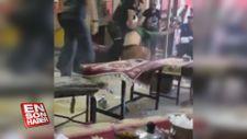 Van'da polis müdahalesi öncesinin görüntüleri ortaya çıktı