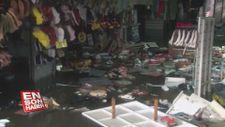 Eminönü'nde sel felaketinin ardından son durum