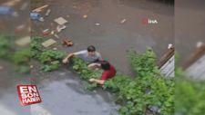 Ataşehir'de su baskınında can pazarı