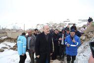 Bakan Süleyman Soylu deprem bölgesinde incelemelerde bulundu