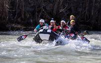 Bakan Varank Munzur'da rafting yaptı