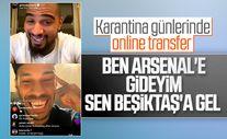 Boateng'den Aubameyang'a Beşiktaş'a gel çağrısı