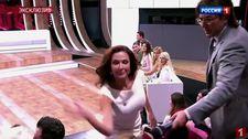 Rus oyuncu Evelina Bledans canlı yayında seyirciyi tokatladı