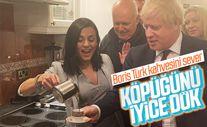 Şarkıcı Eylem'den İngiltere Başbakanı Boris Johnson'a Türk kahvesi