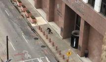 ABD'de adliye önünde silahlı saldırı