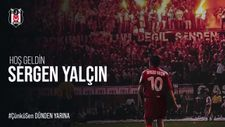 Beşiktaş'tan Sergen Yalçın'a hoş geldin videosu