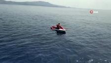 Filistinli göçmenlerin jet ski ile kaçış macerası