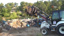 Ormandan 65 ton çöp çıktı