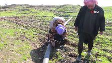 Halep'te oğlunun cansız bedeninin parçalarını toplayan anne