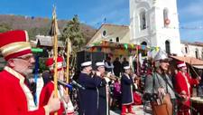 Yunanistan mehter takımının zafer marşlarıyla inledi