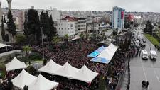 İdlib şehidi Tayfun Pekel'i binler uğurladı