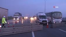 İstanbul çıkışı kapatıldı