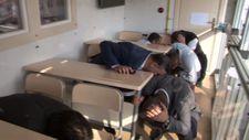 Vatandaşlar depremi sanal simülasyonla yaşadı