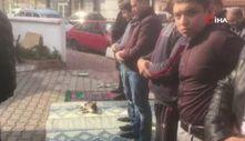 Bursa'da cami cemaatinin kedi sevgisi