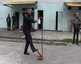 Çay fabrikası çalışanı dezenfektan pompası için buluş yaptı