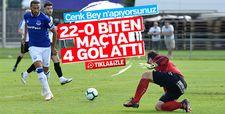 Cenk Tosun'dan hazırlık maçında 4 gol