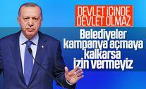 Cumhurbaşkanı Erdoğan: Kampanyayı devlet yönetiyor
