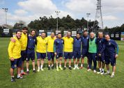 Fenerbahçeli eski futbolcular maç yaptı