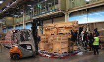 Turkish Cargo, sarayın eserlerini Japonya'ya taşıdı