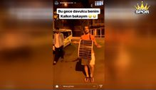 Trabzonsporlu Abdülkadir sahur saati davul çaldı