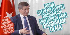 Davutoğlu: Başbakanmış gibi yap ama yetki kullanma
