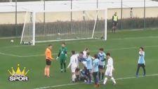 Altınordulu genç futbolcudan fairplay örneği