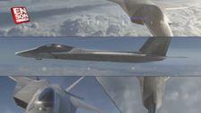 Milli Muharip Uçak (MMU) TF-X'in animasyon görüntüleri yayınlandı