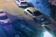 İstanbul'da direksiyon başında sinirlenen sürücü takla attı