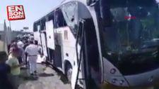 Mısır'da turist otobüsünde patlama