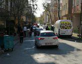 Dur ihtarına uymayan aracı kovalayan polis otosu kaza yaptı