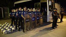 Bursaspor tesislerinde yoğun güvenlik önlemi