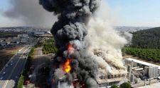 Tuzla'da sanayi bölgesinde yangın