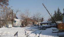 Elazığ'da direkler devrildi, köy elektriksiz kaldı