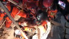 Elazığ depreminde JAK timlerinin vermiş olduğu zorlu mücadele