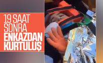 Ayşe Yıldız 19 saatin ardından enkazın altından kurtarıldı