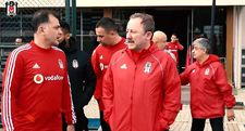 Beşiktaş'ta Sergen Yalçın ilk çalışmalarına başladı